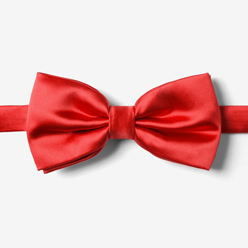 Lust Red Bow Tie