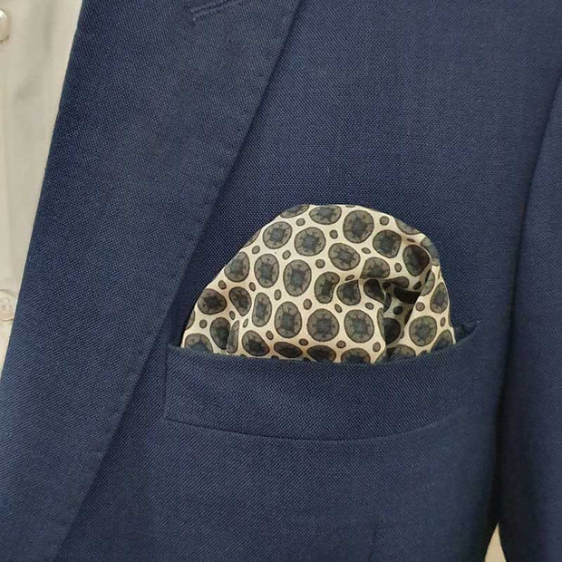 Magic Black Pocket Square