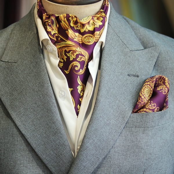 Purple Mens Suiting Accessories