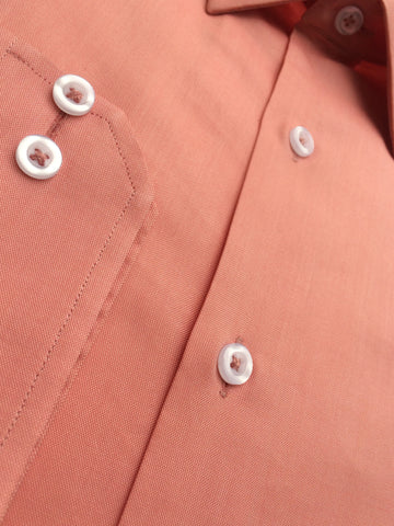 Peach Polo Cotton Shirt