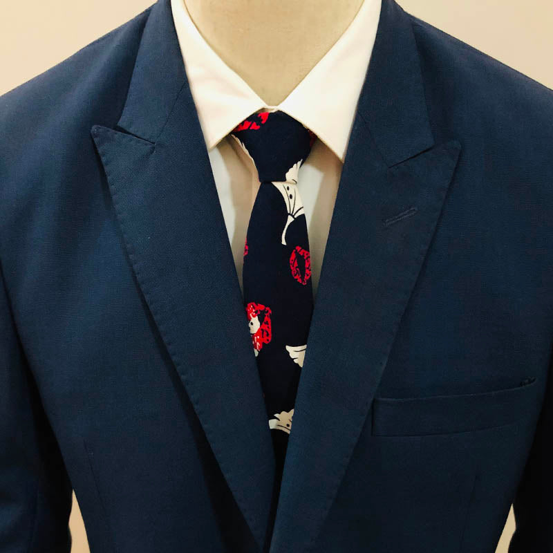 Prom Night Floral Tie