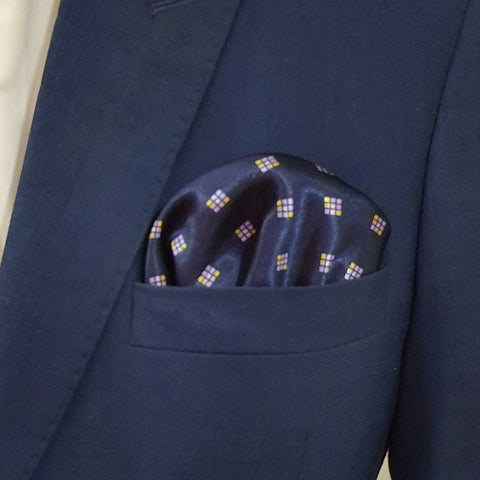 Retro Silk Pocket Square