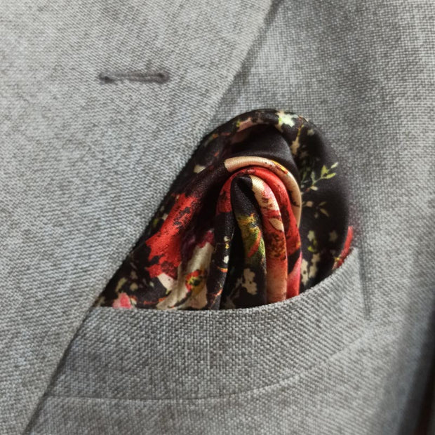 Rose Drive Pocket Square