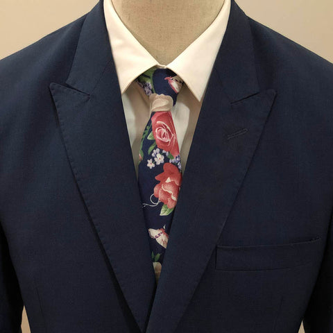 Royal Garden Floral Neck Tie