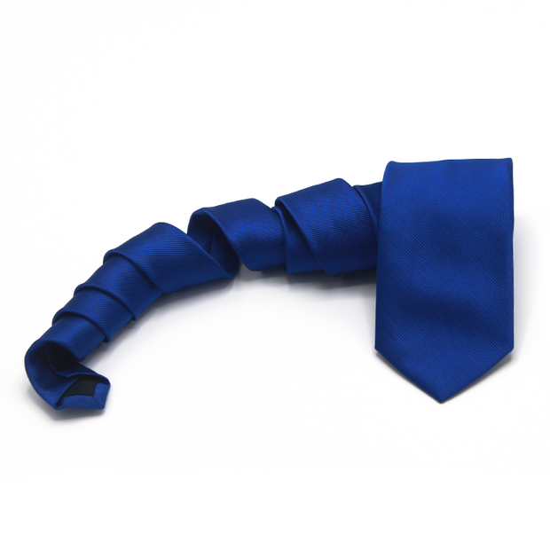 Solid Royal Blue Tie
