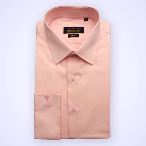 Solid Baby Pink Shirt