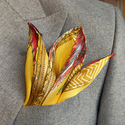 THE ART BASE POCKET SQUARE