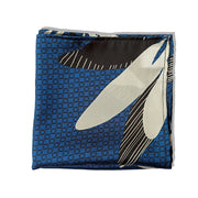 THE MIDNIGHT BLUES SILK POCKET SQUARE
