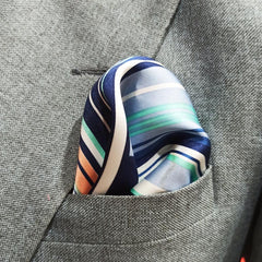 The Arizona Stripes Pocket Square