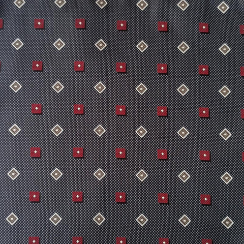 The Ruby Stone Pocket Square