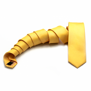 The Solid Yellow Neck Tie