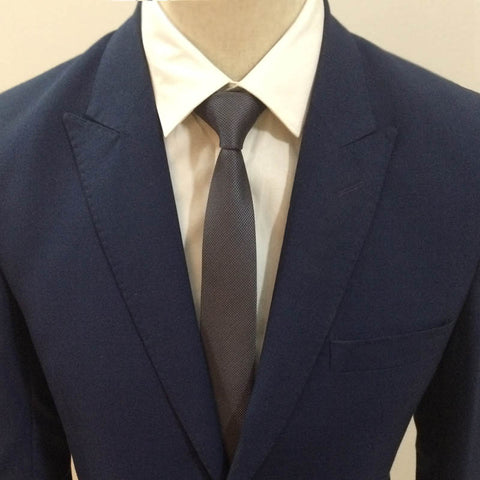 The Gray Pattern Neck Tie