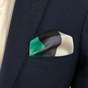 The Green Spectrum Pocket Square