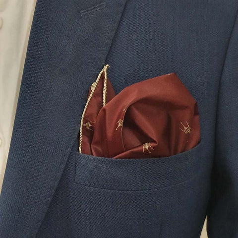 The Maserati Pocket Square