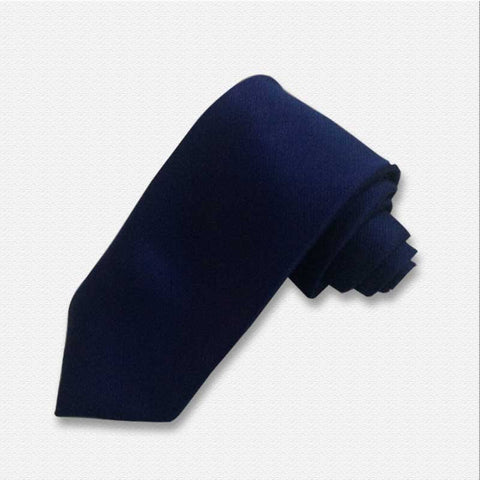 The Solid Blue Neck Tie