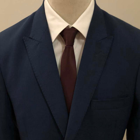 The Solid Hickory Neck Tie