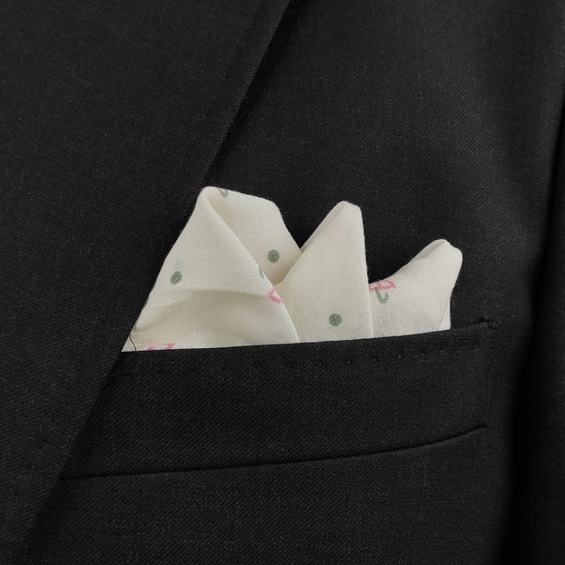 Under My Umbrella Pocket Square