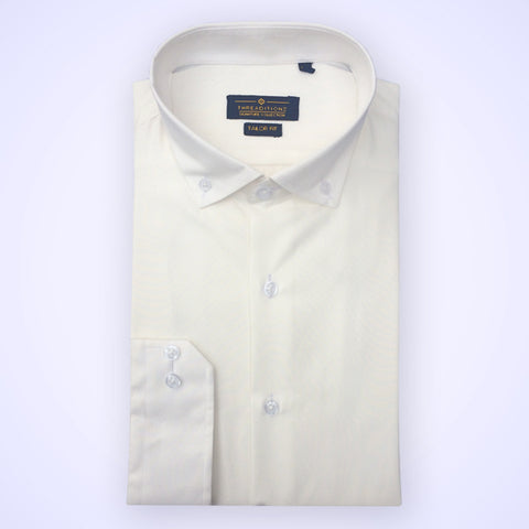 White Silky Cotton Shirt