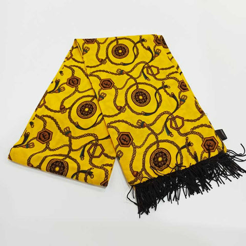 Yellow Unchained Scarf