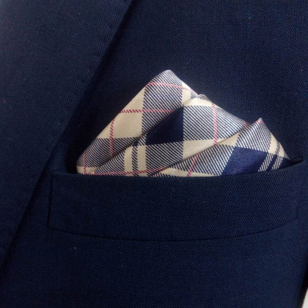 Blue Pocket Squares