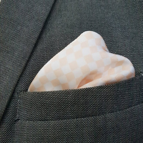 Champigne Mini Boxed Pocket Square