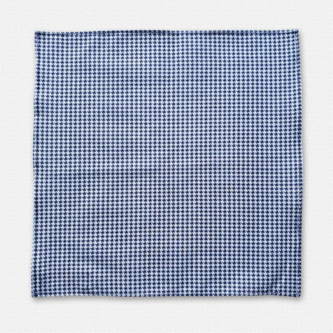 Denim Houndstooth Cotton 2