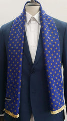 Royal Blue Michael kors Scarf