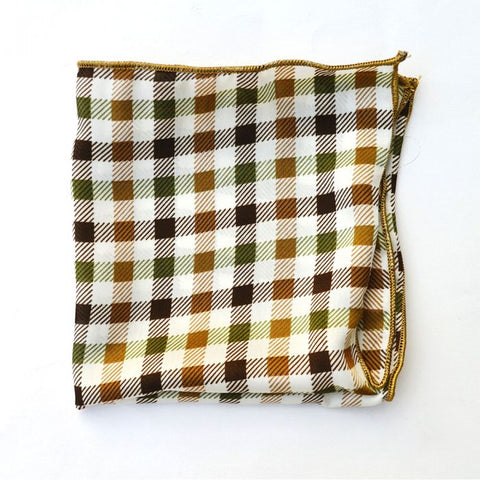 Green and Brown Checkered