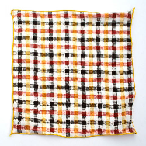 Red and Yellow Checkered