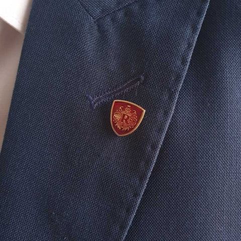 Red n Golden Roger Lapel Pin