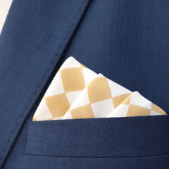 Sand Boxed Pocket Square