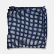 Navy Blue Boxed - Silk Pocket Square