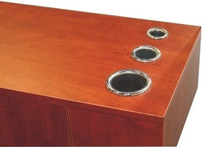 Asti 3 Piece Station Set, Cherry