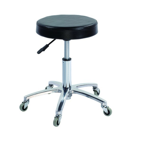 Mobile Stool, Padded