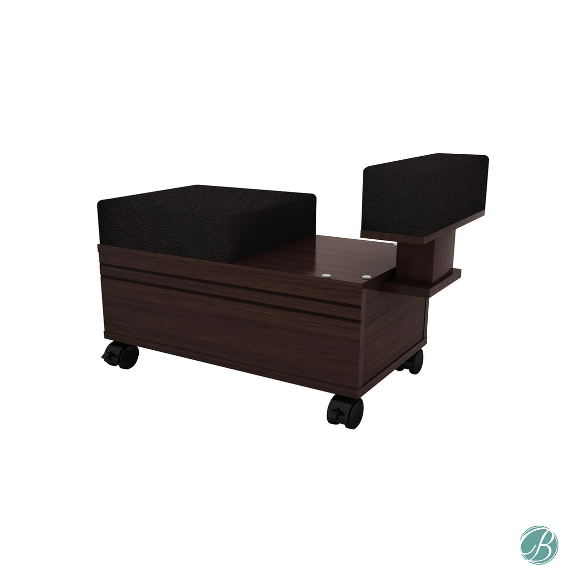Pedicure Foot Cart & Stool