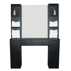 Asti 5 Piece Station Set, Black, White or Walnut