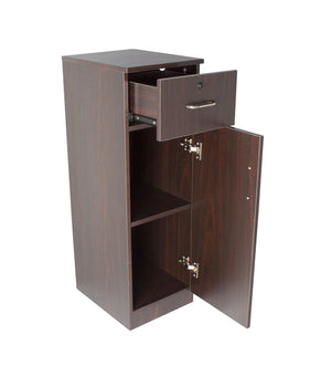 Asti Station Base Cabinet, Walnut
