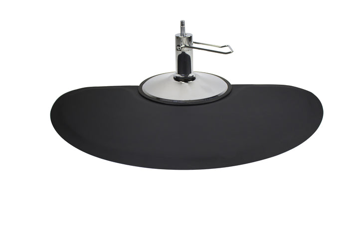Anti Fatigue Salon Mat, Half Circle