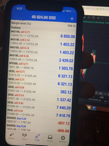US30, XAUUSD Gold, NAS100 & Bitcoin VIP Live Trade Alerts 3 Month Plan