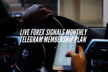 Load image into Gallery viewer, Live Forex Trade Signals Monthly Telegram Membership Plan - Money Trust Forex Signals