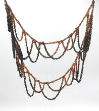 Load image into Gallery viewer, Copper loop infinity necklace