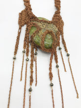 Load image into Gallery viewer, Avocado stone mega talisman necklace