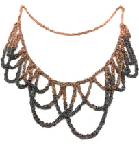 Load image into Gallery viewer, Ombré loop necklace