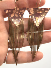 Load image into Gallery viewer, Speckled stardust earrings