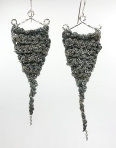 Guinevere earrings- Storm
