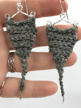 Load image into Gallery viewer, Guinevere earrings- Storm