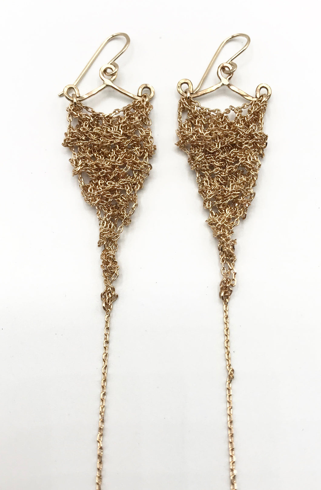 XS gold earrings