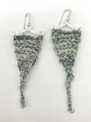 Guinevere earrings- Waterfall