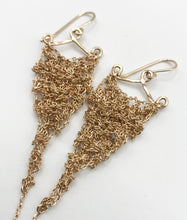 Load image into Gallery viewer, XS gold earrings