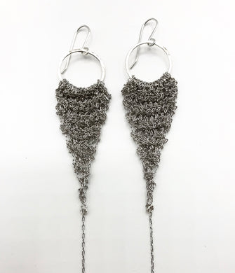 Medium silver and rhodium drops